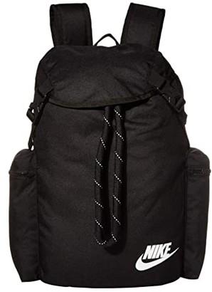 Nike Heritage Rucksack (Black/Black/White) Backpack Bags