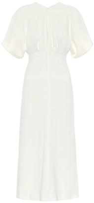 Victoria Beckham CrApe midi dress