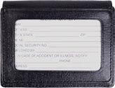 Royce Leather Men's Saffiano Cowhide Money Clip ID Wallet