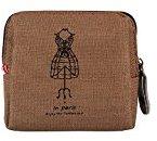 Tonsee(TM) Retro Lady Purse Wallet Card Holders Clutch Handbag (Coffee)
