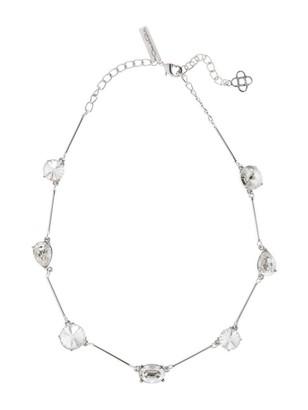 Oscar de la Renta Swarovski Crystal Station Necklace
