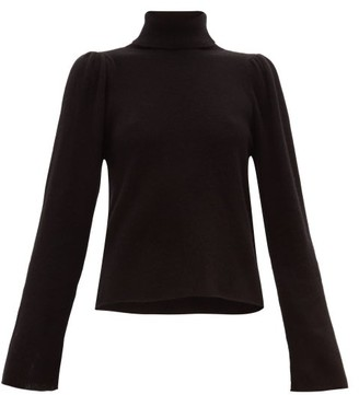 Roche Ryan Roll-neck Cashmere Sweater - Womens - Black