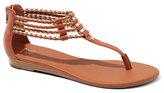 New York & Co. Bolo Braid T-Strap Sandal