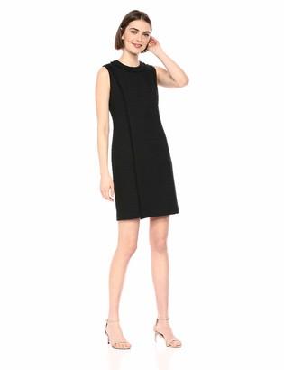 Karl Lagerfeld Paris Women's Solid Tweed Dress