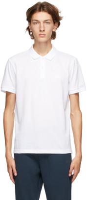 HUGO BOSS White Piro Regular Fit Polo