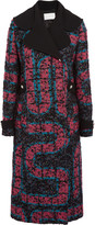 Peter Pilotto Labyrinth bouclé coat