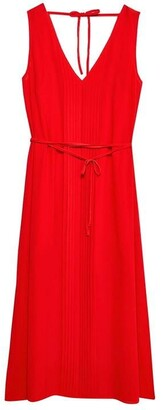 Jack Wills Palmsley Long Pleated Dress
