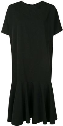 Y's Dropped Waist Shirt Dress