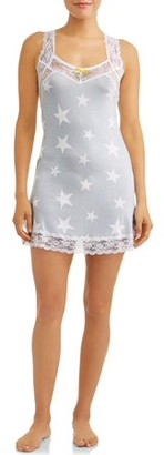 Honeydew Intimates Honeydew Women's Anha Jersey And Lace Chemise