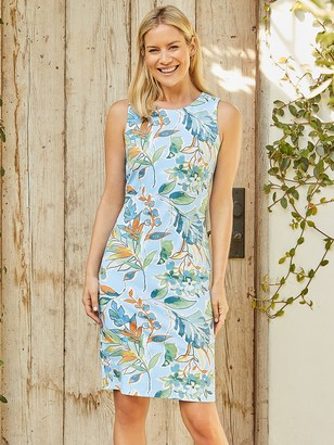 J.Mclaughlin Sophia Sleeveless Dress in Jardinia