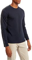 Jaeger Long Sleeve T-Shirt, Navy