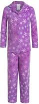 Komar Kids Snowflake Microfleece Pajamas - Long Sleeve (For Girls)
