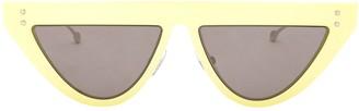 Fendi Eyewear Logo Detail Sunglasses