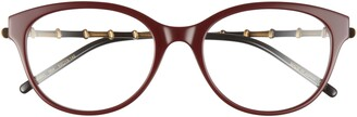 Gucci 53mm Butterfly Optical Glasses