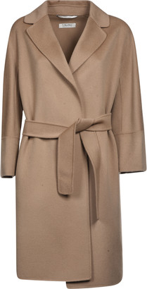 Max Mara The Cube Belted Waist Coat