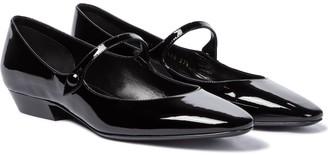 Saint Laurent Patent leather Mary Jane flats