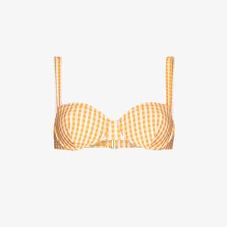 Peony Swimwear Holiday Balconette Bikini Top