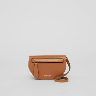 Burberry Leather Olympia Card Case with Detachable Strap