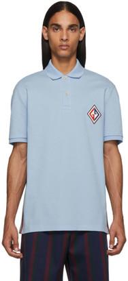 Gucci Blue GG Diamond Polo