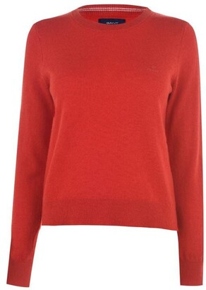 Gant Lambswool Crew Sweater