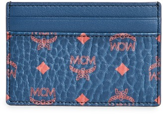 MCM Mini Visetos Original Card Case