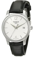 Tissot Women's T0632101603700 Tradition Analog Display Swiss Quartz Black Watch