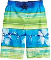 ZeroXposur Boys 8-20 Hawaiian Stripes Swim Trunks