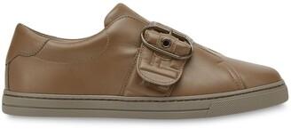 Fendi Minimalist buckled sneakers