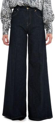 L'Autre Chose High Waist Flared Jeans