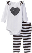 Nordstrom Ruffle Bodysuit & Legging Set (Baby Girls)