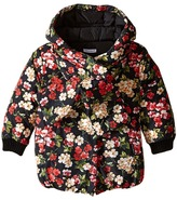 Dolce & Gabbana Back to School Floral Nylon Coat (Toddler/Little Kids)