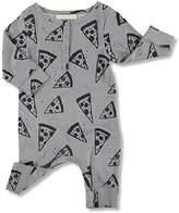 nadadelazos Baby Girls Romper Pizzas Long Sleeve Onesie Pajamas