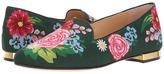 Charlotte Olympia Rose Garden Slipper Women's Flat Shoes