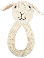 Anne Claire Hand Crochet Sheep Rattle With Bell
