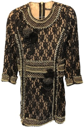 Balmain Black Lace Dress for Women