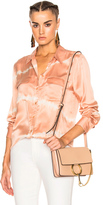 Equipment Slim Signature Top in Neutrals,Ombre & Tie Dye,Pink.