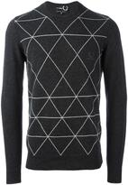 Fred Perry diamond print jumper