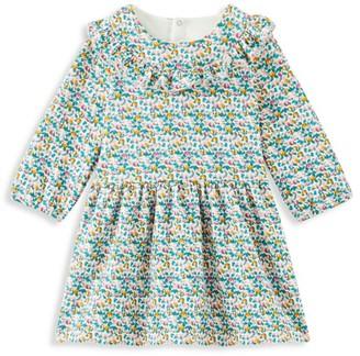 Petit Bateau Baby Girl's Ruffle Printed Dress