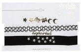 Charlotte Russe Aquarius Choker Necklaces & Earrings Set