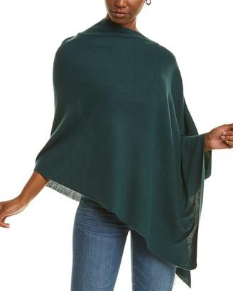 Eileen Fisher Links Wool Poncho