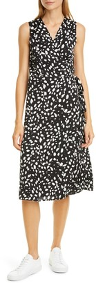 Nordstrom Signature Silk Blend Wrap Dress