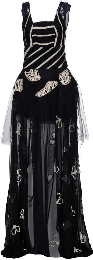 Michael Van Der Ham Long dresses