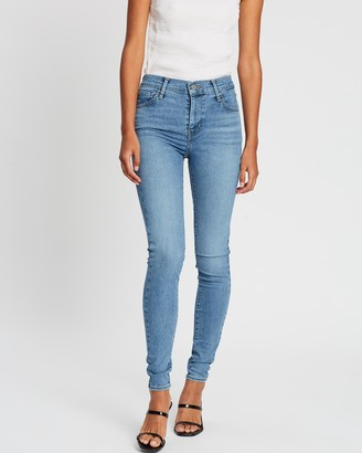 Levi's 720 High-Rise Super Skinny Jeans