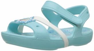 Crocs Girls' Lina Frozen Sandal Kids Open-Toe