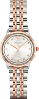 Emporio Armani AR1962 rose gold-plated stainless steel watch