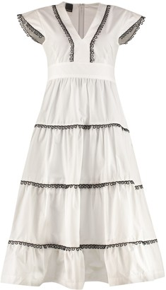 Pinko Cotton Long Dress