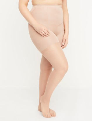 Lane Bryant Ultra High-Waist Shimmer Sheer Shaping Pantyhose