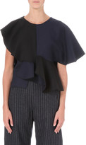 Jacquemus Le Volants virgin wool and cotton-blend top