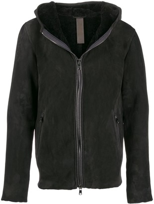 Giorgio Brato Dark Eagle hooded jacket