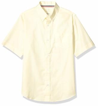 French Toast Boys' Big Short Sleeve Oxford Shirt